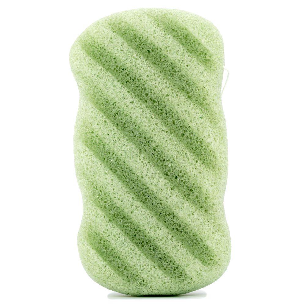 Spugna-konjac-corpo-tè-verde